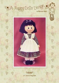 The 7 best images about Rag Doll Patterns on Pinterest ...