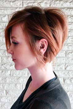 kısa katlı saç kesimi