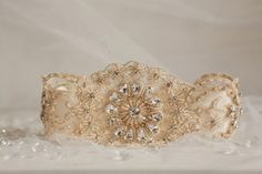 No.3 Gold by mamieandjames on Etsy. #lacegarter #weddinggarter #bridalgarter