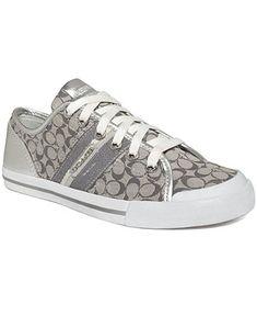COACH FRANCES SNEAKER - Coach Shoes - Handbags & Accessories - Macy's