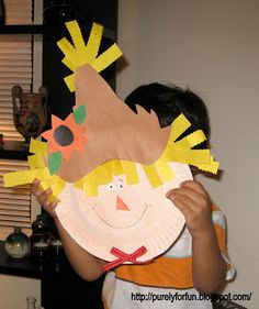 Purely for fun: Halloween Crafts using paper plates