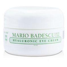 Mario Badescu Eye Care Hyaluronic Eye Cream - For All Skin Types Natural Eye Cream, Anti Aging Eye Cream, Aging Cream, Eye Cream For Dark Circles, Dark Circles Under Eyes, Best Dark Circle Cream, Beauty Photography, Best Under Eye Cream, Homemade Eye Cream