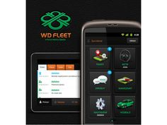 WD Fleet - Android app icons & UI/UX by Petr | Direct-services