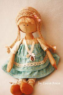 Textile doll primitive Adele - Fair Masters - handmade, handmade- 2