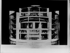 Total Theater for Erwin Piscator, Berlin, 1927g