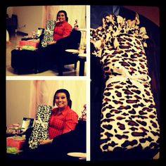 #Leopard #tie #blanket #baby #girl #babyshower #pink #navyblue #grey #babyroom this is the leopard tie blanket I made one of my very #bestfriends for her baby girl Auria!!!  :)