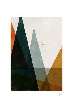 Nadadora big print by blancucha on Etsy