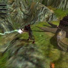 Captura de Black and White que tenía un sistema de inteligencia artificial que permitía enseñarle a un avatar del juego como comportarse respecto a varios eventos.