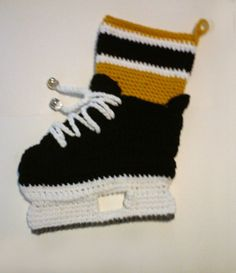 Ice Hockey Christmas Stocking