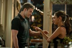Still of Mila Kunis and Justin Timberlake in Friends with Benefits