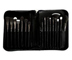 Luxie Onyx Noir 30 Piece Brush Book Set