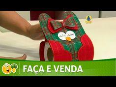 Kombina | Porta papel higiênico natalino por Michelle Flohr - 19 de Novembro de 2016 - YouTube