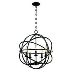 Bronze Kronleuchter, Für Licht, Kerze, Beleuchtung, Anhänger, Kronleuchter,  Bronze For, Light Globes, Oil