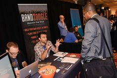 @Bandzoogle giving attendees more information #NMS2013