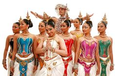 SRI LANKA DANCERS  Dancers of the Channa - Upuli dance troupe performing in concerts  world wide.