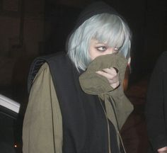 Alice Glass, Silver Hair