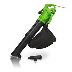 Garden 3000w Electric Leaf Blower Vacuum Shredder Mulcher & 10m Cable - 2 Year Warranty