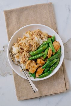 Recipe: Chicken and Snap Pea Stir-Fry — 5 Recipes to Eat with Rice from The Woks of Life