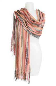 Missoni Fringed Shawl available at #Nordstrom