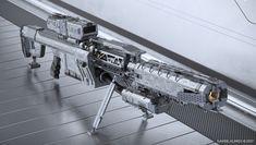 ArtStation - EMP Sniper Rifle, Gavriil Klimov