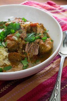 Crock Pot Coconut Pork Curry
