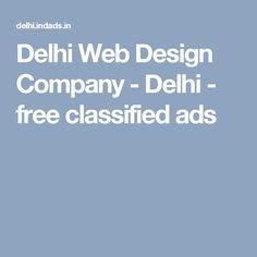 Delhi Web Design Company - Delhi - free classified ads