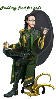 Loki pudding break