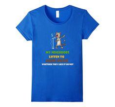 Funny Cat T Shirt- music lover gift Tee for kids- men- women
