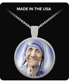 St. Teresa of Calcutta Necklace - Silver