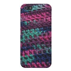 Colorful Crochet Case For iPhone 5