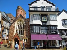 Thinking about taking a spa break in Exeter? Our expert guide to Exeter spa breaks - including spas to visit, where to stay & things to explore in Exeter England Tourist Attractions, Exeter England, Spa Breaks, Devon England, South Devon, Uk Holidays, Green Landscape, City Break, British Isles