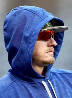 Josh Donaldson Photos Photos - Josh Donaldson #20 of the Toronto Blue Jays warms up during batting practice prior to game one of the American League Championship Series against the Cleveland Indians at Progressive Field on October 14, 2016 in Cleveland, Ohio. - ALCS - Toronto Blue Jays v Cleveland Indians - Game One