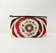 Collage Fabric Art Bag  by SaidoniaEco