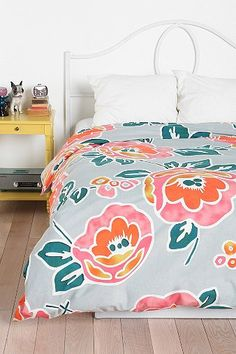 Plum & Bow Peonies Duvet Cover - Urban Outfitters