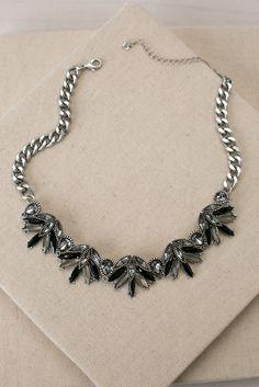 Next Stage Black Necklace   ShopDressUp.com