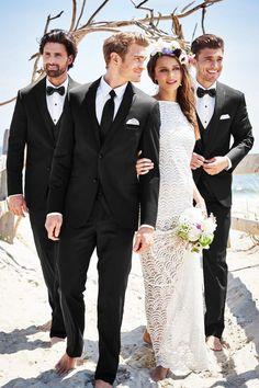 New Suit Available at Ella Park Bridal | Newburgh, IN | 812.853.1800|  Michael Kors Sterling Wedding Suit Slim Fit Suit | Jim's Formal Wear