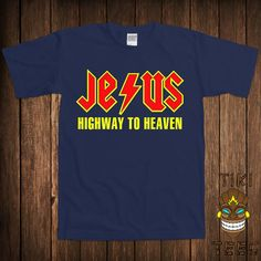 Funny Jesus T-shirt Christian Catholic Tshirt Tee Shirt Holy Bible Saviour All t-shirts are printed on 100% Cotton (Preshrunk) High Quality Branded T-shirts Such As: Gildan Alstyle Fruit Of The Loom All t-shirts are made to order and are printed using the highest quality ink to garment technology. This is not a cheap heat transfer or screen print. Designs are offered in 15 DIFFERENT COLORS to choose from: See Palette Men - S, M, L, XL, 2XL, 3XL, 4XL, 5XL Youth - XS, S, M, L Ladies - ...