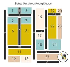 (BOM) Sew-Along: April Stained Glass Quilt Block « Sew,Mama,Sew! Blog