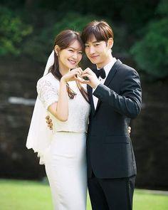 "15 Likes, 1 Comments - Shin Min Ah (@illuso.mina) on Instagram: """"Tomorrow with you"" The Wedding Shin Min Ah & Lee Je Hoon ❤ #tomorrowwithyou #shinminah #shinmina…"""