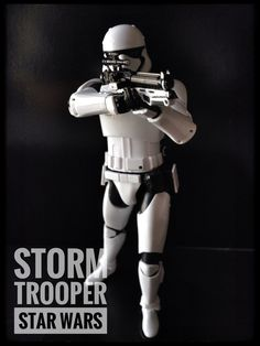 Storm trooper Star Wars painted build