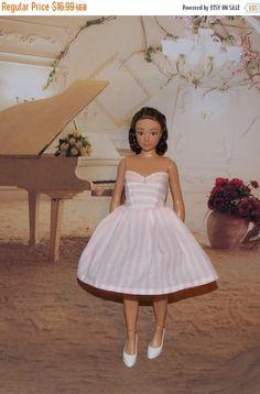 ROBIN SALE Handmade Lammily Dress.  Pink & by MySweetDollBoutique