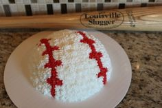 Baseball smash cake - I want to make this for Breckin's first birthday!