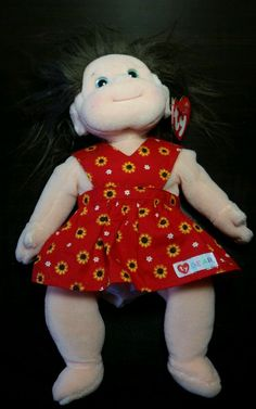 TY BEANIE KIDS - COOKIE- MINT RETIRED 2001 GIRL DOLL in Toys   Hobbies f56608cc6df4
