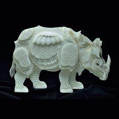 絶滅危惧種を紙で作った作品を作ってistagamに掲載しているdakgavityさん。 どの紙の彫刻もとてもきめ細やか。 https://www.istagam.com/p/BShl9T5AhxC...