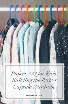 While there are many ways to live simply, starting with your wardrobe can cause a ripple effect inspiring the simplicity you want in your life. Minimalist Kids, Minimalist Closet, Minimalist Living, Kids Wardrobe, Wardrobe Basics, Capsule Wardrobe, Simple Closet, Kid Closet, Fashion Capsule