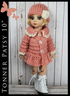 "Spring Outfit Fashion for Tonner Patsy Ann Estelle 10"" by Maggie and Kate Create"