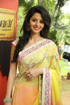 Latest Vedhika Hot Photos in Saree