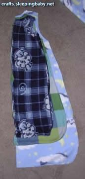 Make sleeping bags for growing babies