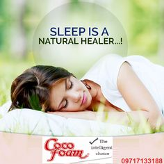 ‪‎SleepFact‬: Quality ‪Sleep‬ repairs the muscles, bones, skin & keeps our body stay healthy & fight illness.  For more information visit us at: http://Cocofoam.in/