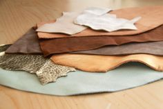 Tips for Easy Working with Leather - Part 1: leather types